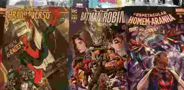 As revistas de histórias em quadrinhos do Batman e do Homem-Aranha são as favoritas do juiz Sergio Moro, segundo o funcionário de uma banca em Curitiba - Janaina Garcia/UOL