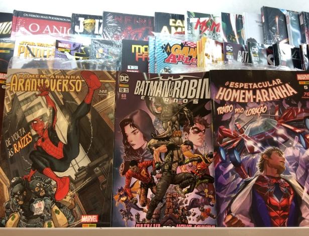 As revistas de histórias em quadrinhos do Batman e do Homem-Aranha são as favoritas do juiz Sergio Moro, segundo o funcionário de uma banca em Curitiba