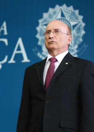 O ministro Osmar Serraglio, durante a posse no cargo no Ministério da Justiça