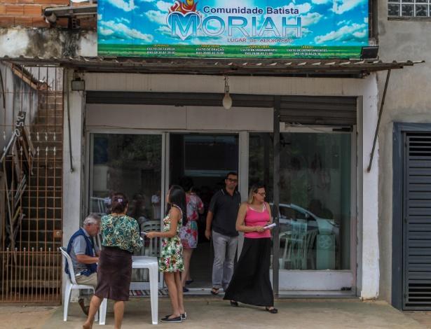 Campanha de vacinação contra a febre amarela em igreja batista na Chácara Maria Trindade, na zona norte de São Paulo  - Rafael Arbex/Estadão Conteúdo