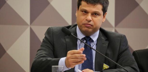 O ex-procurador Marcelo Miller fala na CPI da JBS