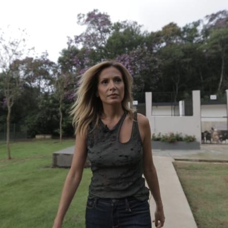 A apresentadora Luisa Mell - Reprodução/TV UOL