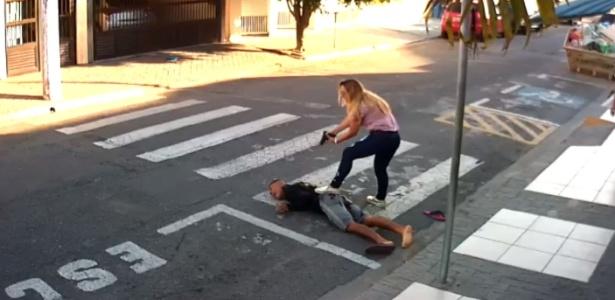 PM reage a assalto e mata homem em Suzano (SP)