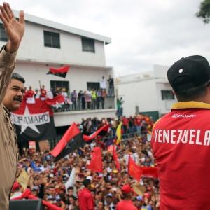 Xinhua/Presidencia de Venezuela