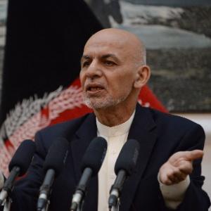 O presidente afegão, Ashraf Ghani - Noorullah Shirzada/AFP
