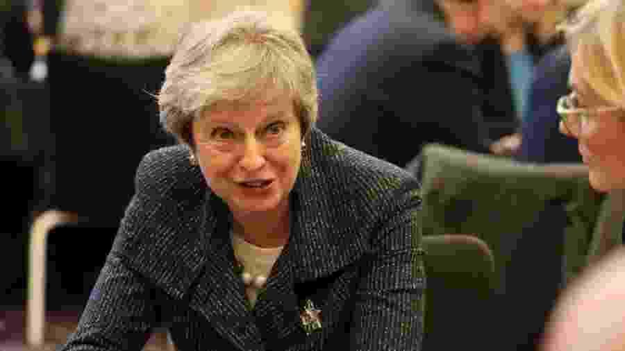 May já deixou claro que, pessoalmente, não concorda com adiar a data de saída do Reino Unido da União Europeia - Getty Images