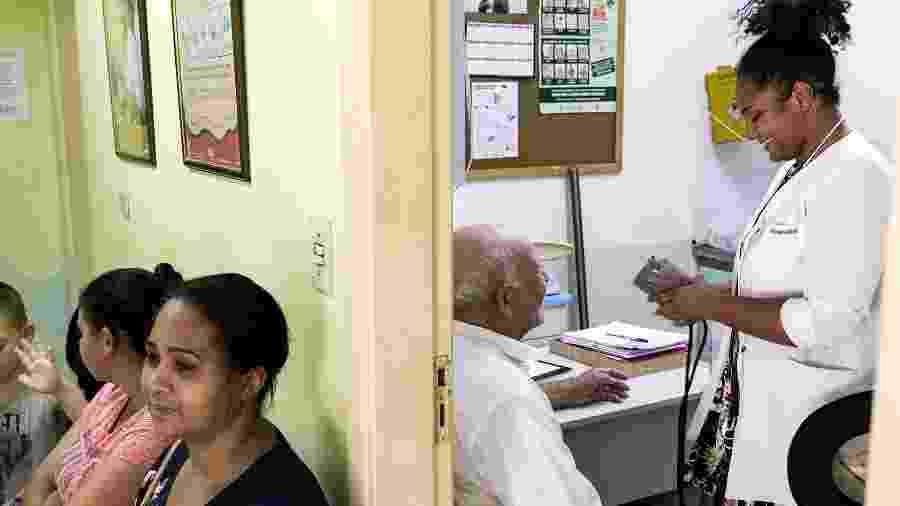 Atendimento em UBS de Embu Guaçu: dos 15 médicos que se inscreveram apenas seis foram trabalhar na cidade paulista - Rafael Roncato/UOL