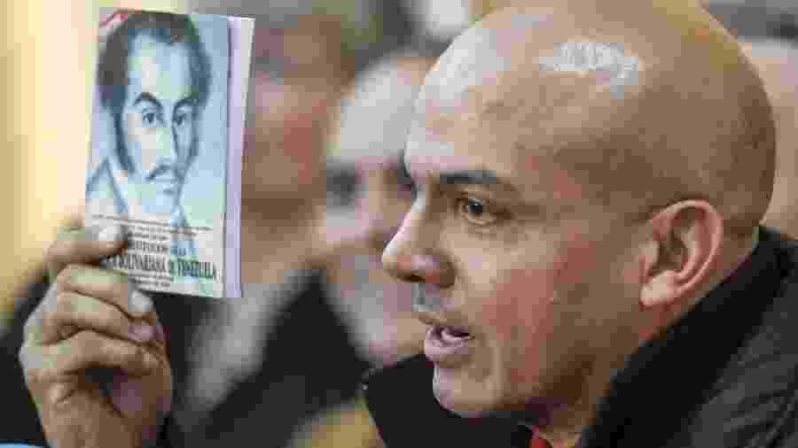 Clíver Alcalá, general chavista reformado - Juan Barreto/AFP