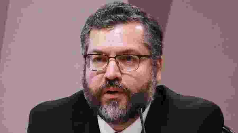 4.abr.2019 - Ministro de Estado das Relações Exteriores, Ernesto Araújo - Fátima Meira/Futura Press/ Estadão Conteúdo