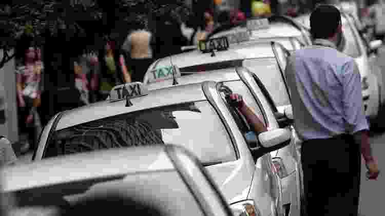 Taxistas em São Paulo poderão optar pela bandeira 3 - KEINY ANDRADE/ESTADÃO CONTEÚDO/AE - KEINY ANDRADE/ESTADÃO CONTEÚDO/AE