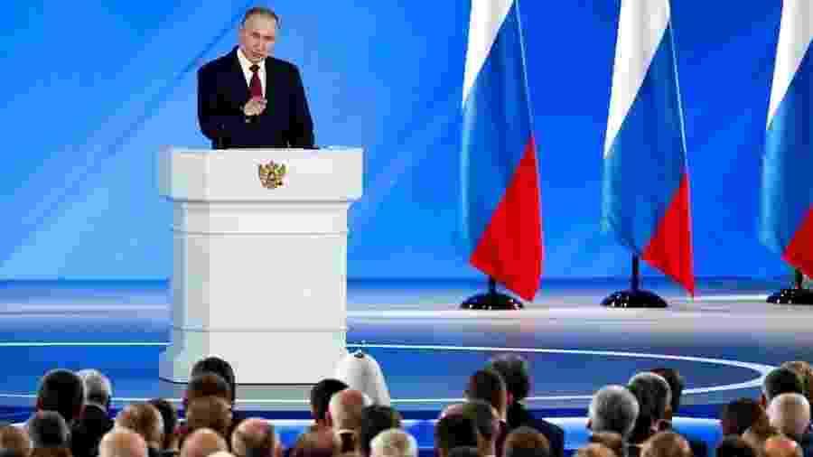 A proposta de reforma constitucional foi feita durante importante pronunciamento anual do presidente - Reuters