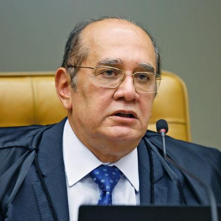 O ministro Gilmar Mendes em sessão do STF (Supremo Tribunal Federal) realizada por videoconferência - Fellipe Sampaio /SCO/STF