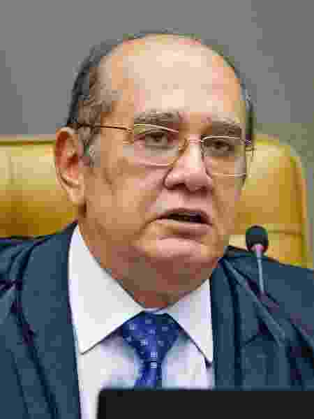 O ministro Gilmar Mendes em sessão do STF - Fellipe Sampaio /SCO/STF