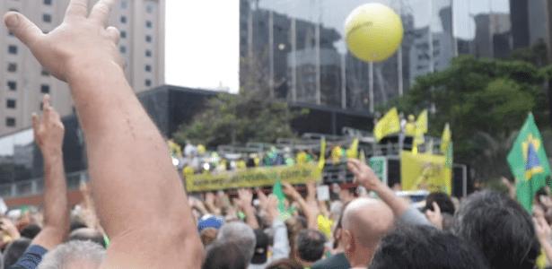 Militância de direita   Vem Pra Rua se vira contra Bolsonaro após críticas de Aras à Lava Jato