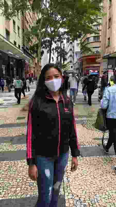 Sheila Aparecida em São Paulo - Lucas Borges Texieira/UOL - Lucas Borges Texieira/UOL
