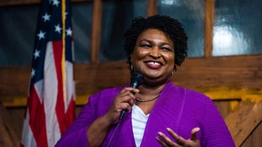 A advogada, escritora, ativista e política democrata Stacey Abrams - Reprodução/Fair Fight