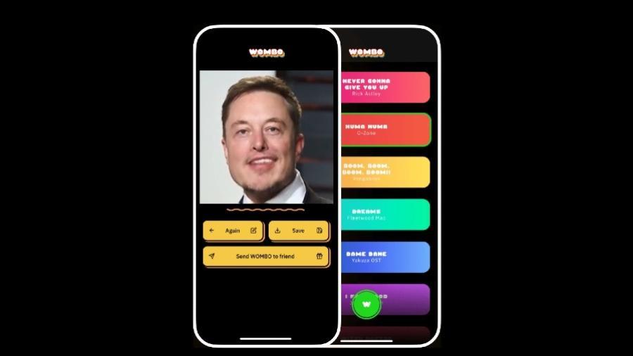 O rosto do bilionário Elon Musk aparece no site da plataforma - Reprodução