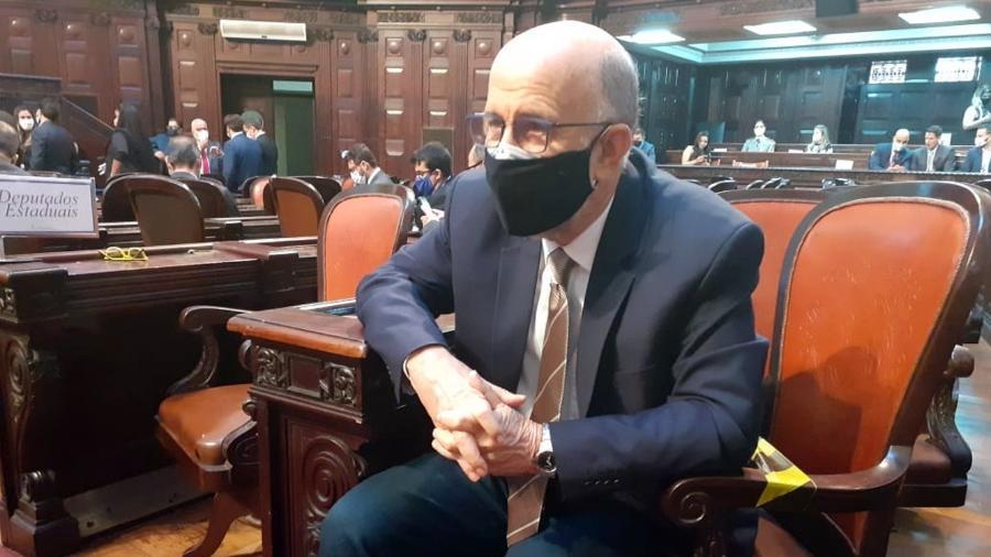 Deputado estadual Luiz Paulo foi um dos autores do pedido de cassação de Wilson Witzel - Rai Aquino/Colaboração para o UOL