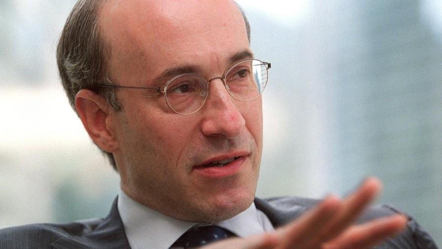 Kenneth Rogoff, ex-economista-chefe do FMI (Fundo Monetário Internacional) e atualmente professor da Universidade Harvard, durante entrevista - Garrige Ho / South China Morning Post via Getty Images