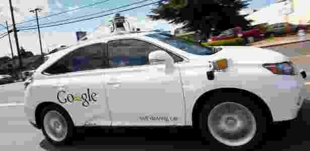Segundo a empresa, o Lexus autônomo foi atingido na traseira por outro carro enquanto estava parado na hora do rush - Tony Avelar - 13.mai.2015/AP