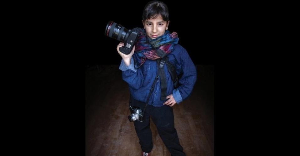 9.fev.2016 - Muntaha, 12, quer ser fotógrafa, porque desde cedo é apaixonada por tirar fotos das pessoas.