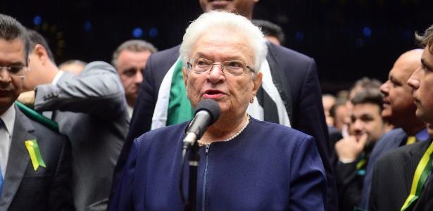 A deputada Luiza Erundina (PSOL-SP)