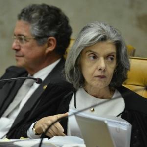 A ministra Cármen Lúcia