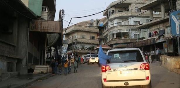 Ajuda humanitária chegou a Madaya em outubro, a primeira desde abril