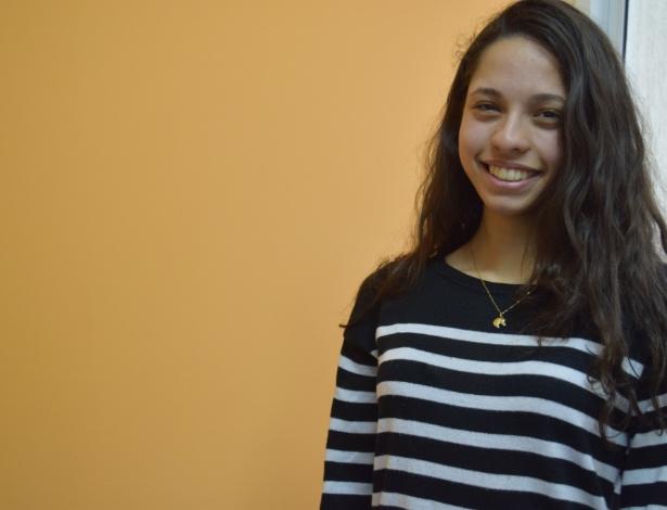 Ana Júlia prefere falar do movimento secundarista a falar de si mesma
