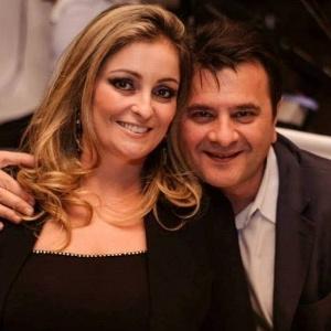 Prefeito de Lages, Elizeu Mattos (PMDB), com a mulher