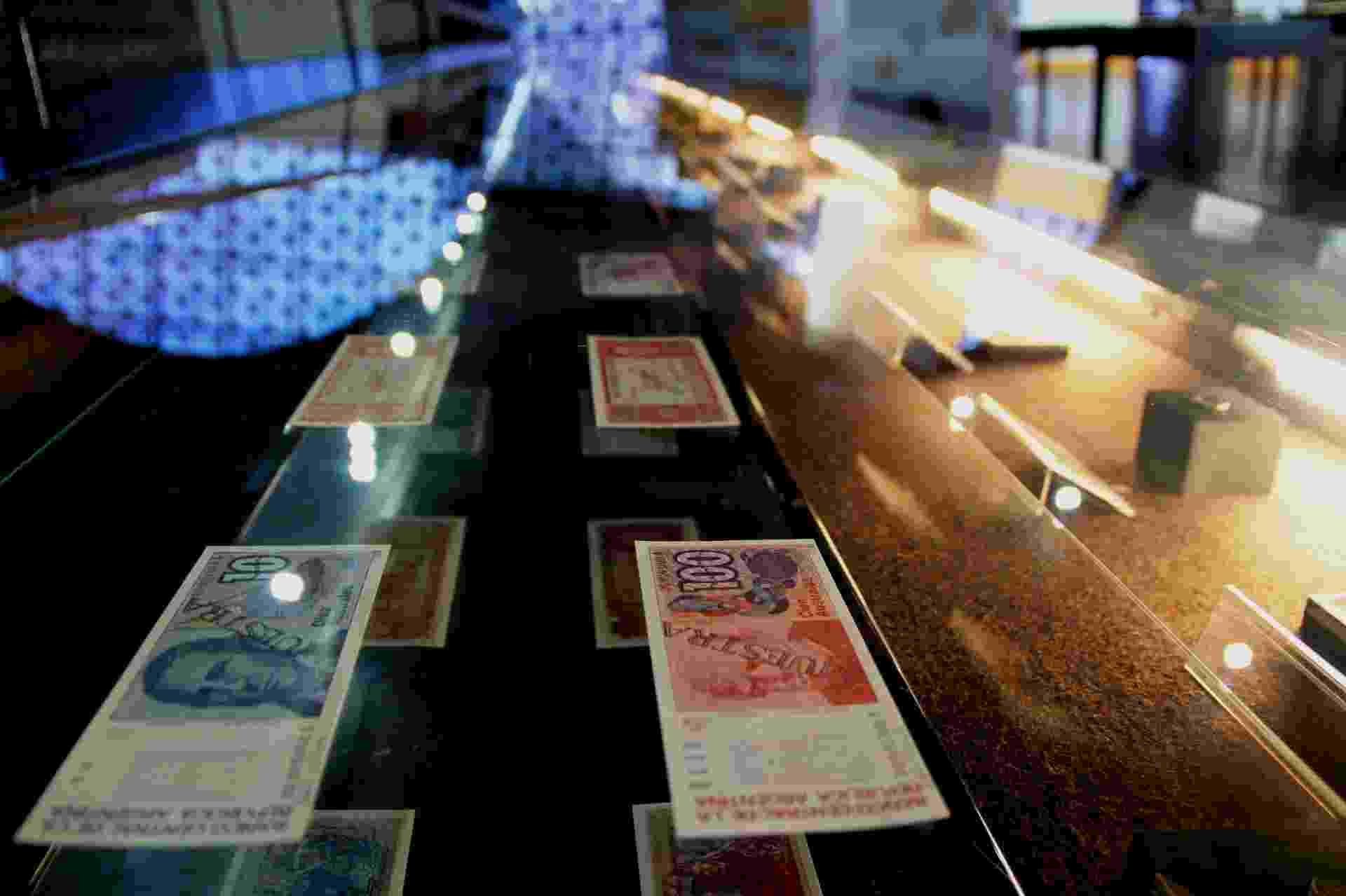 Moedas e cédulas de países da América Latina na exposição Moedas do Brasil e da América Latina - Divulgação