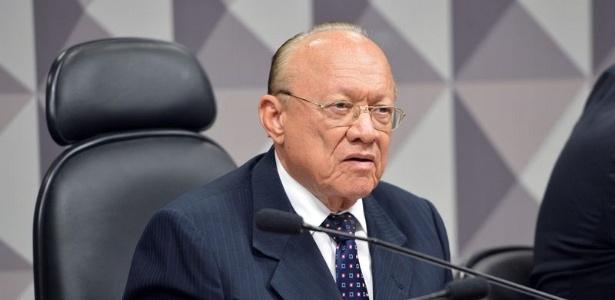 O presidente do Conselho de Ética do Senado, João Alberto Souza (PMDB-MA)