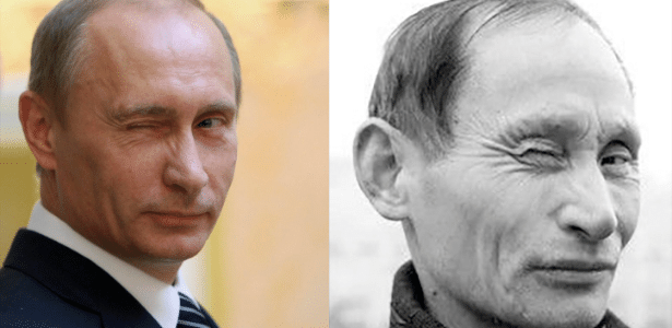 Vladimir Putin (esq.) e o chinês Luo Yuanpin