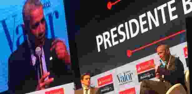 5.out.2017 - Ex-presidente dos EUA Barack Obama participa de evento em São Paulo - Cristiano Romero/Valor / Agência O Globo - Cristiano Romero/Valor / Agência O Globo