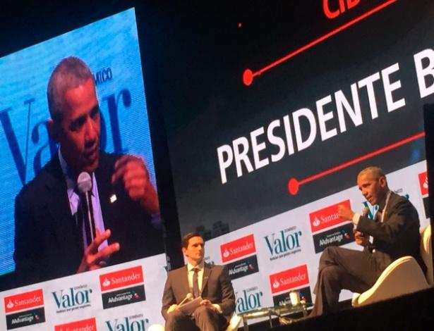 Ex-presidente dos EUA Barack Obama participa de evento em São Paulo - Cristiano Romero/Valor / Agência O Globo