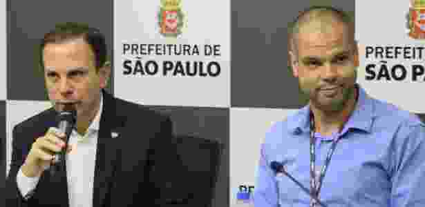 O prefeito de São Paulo, João Doria, e o vice-prefeito Bruno Covas -  CHARLES SHOLL/RAW IMAGE/ESTADÃO CONTEÚDO