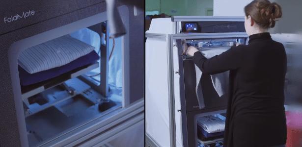 Com o FoldiMate, o cansaço e tédio de dobrar suas roupas pode estar com dias contados
