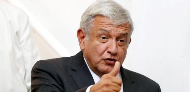 Presidente eleito do México, Andres Manuel Lopez Obrador  - Gustavo Graf/Reuters