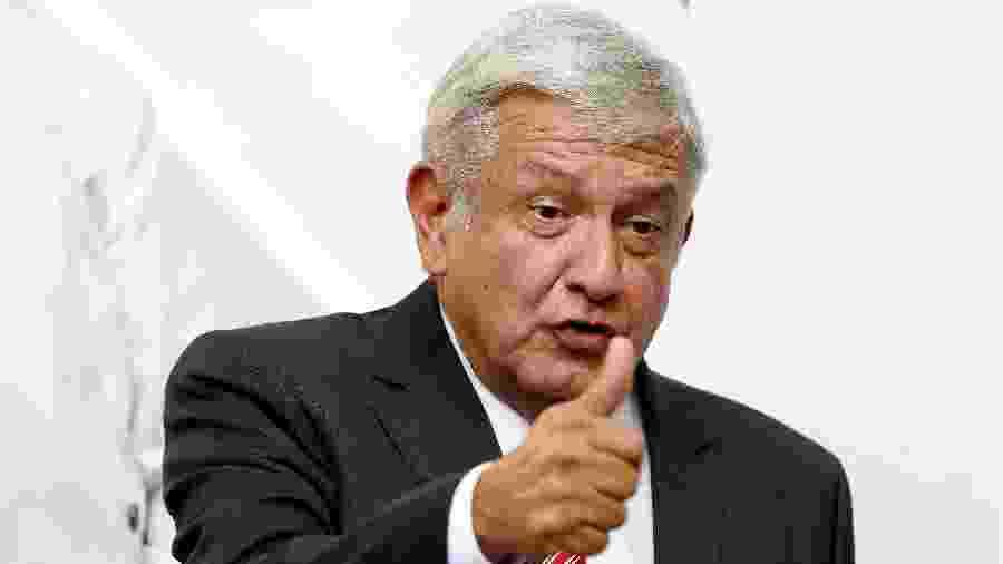 Andrés Manuel López Obrador (foto) receberá Alberto Fernández na segunda-feira - Gustavo Graf/Reuters