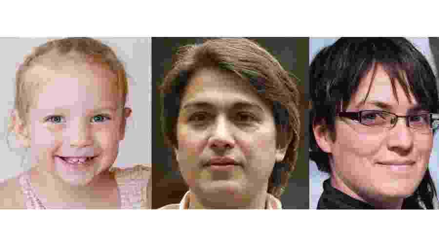 Rostos gerados por inteligência artificial no site thispersondoesnotexist.com - Reprodução/thispersondoesnotexist.com