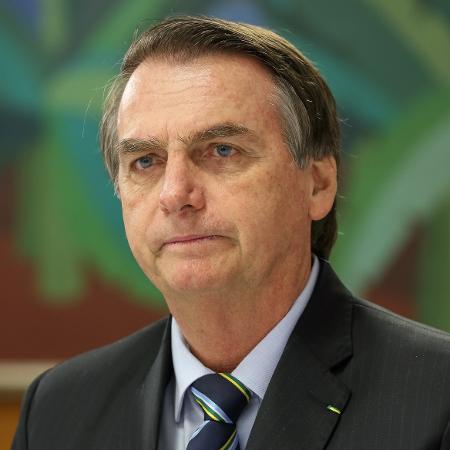 O presidente Jair Bolsonaro durante café da manhã com jornalistas - Marcos Corrêa/Presidência da República