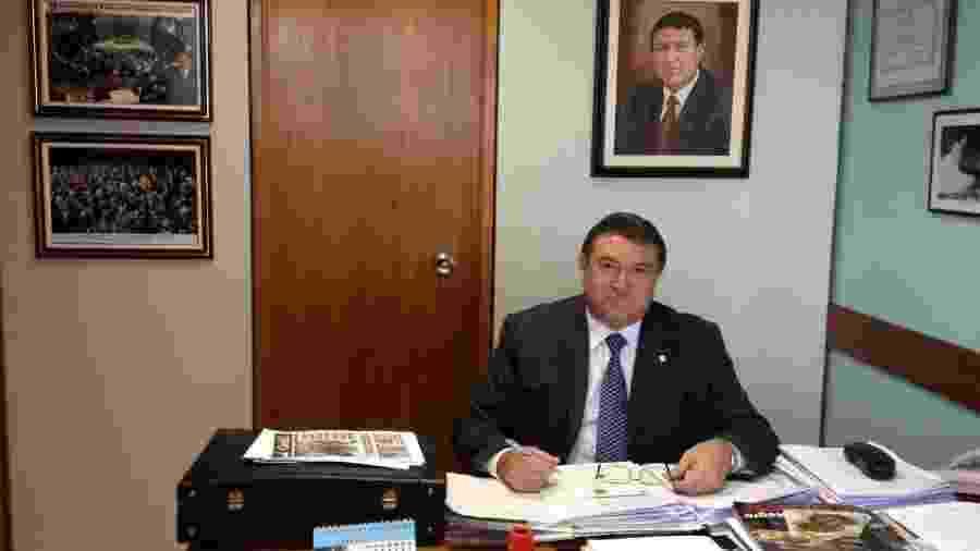 Átila Lins (PP-AM) foi o deputado que mais gastou com viagens de avião no primeiro semestre - Divulgação