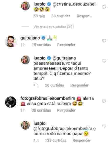 """Luana Piovani comemora fase de solteira: """"Com o rodo na mão, papai"""""""