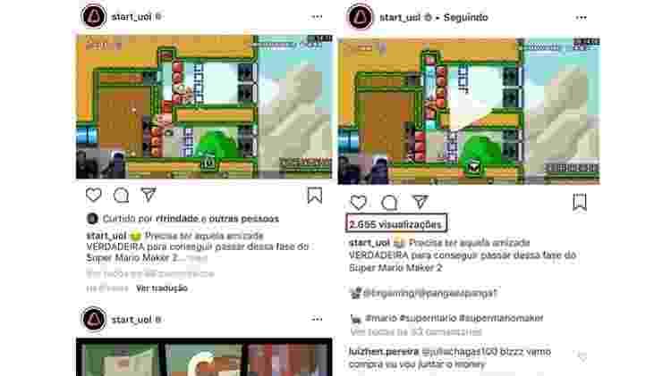 Likes no Instagram - celular - Tilt - Tilt