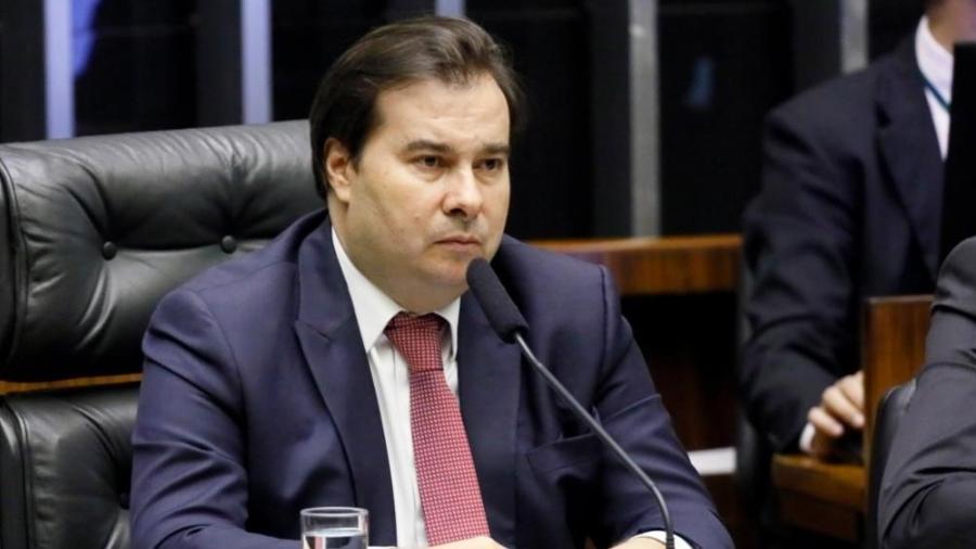 """""""Foi uma grande vitória do parlamento e do diálogo, mas principalmente dos brasileiros"""", comemorou Rodrigo Maia (DEM-RJ) - Luis Macedo/Câmara dos Deputados"""