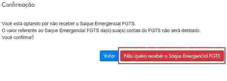 Site FGTS 2 - Reprodução - Reprodução