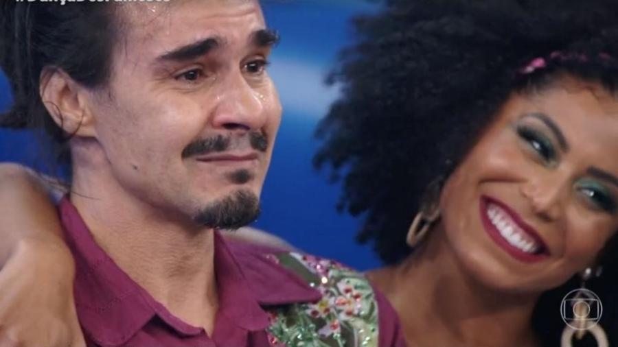 Na Dança dos Famosos, depoimento de Luciano arrancou lágrimas de André Gonçalves - Reprodução