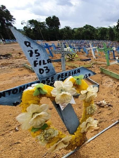 Cemitério Parque de Manaus - Carlos Madeiro/UOL