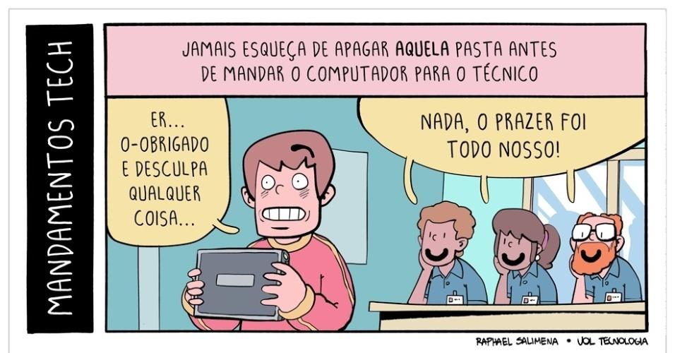 """4.jul.2015 - """"Mandamentos Tech - parte 4"""""""