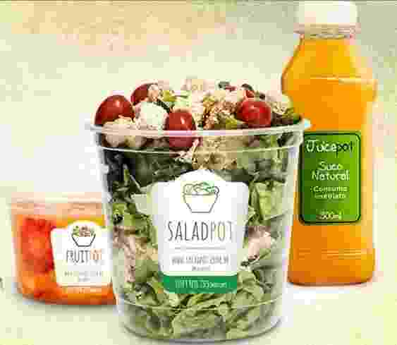 A franquia Saladpot vende comida no pote - Divulgação